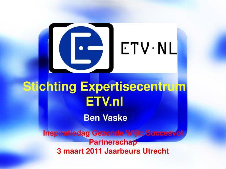 Stichting Expertisecentrum ETV.nl
