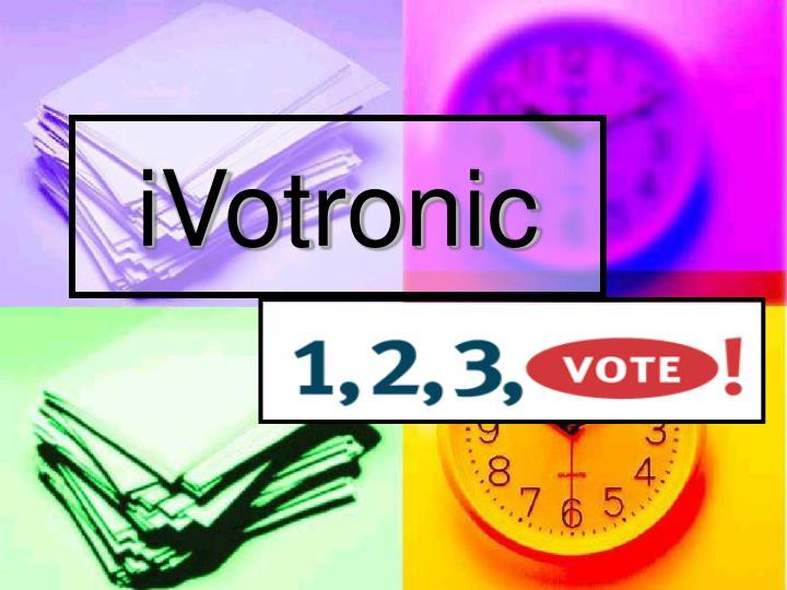 iVotronic