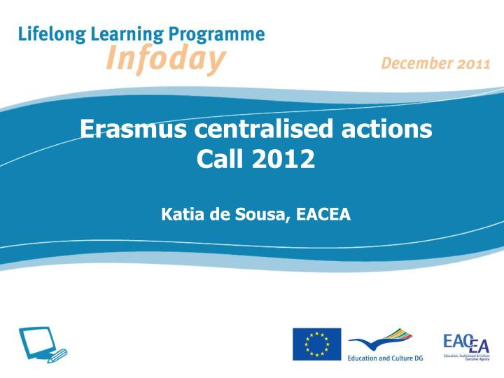 Erasmus centralised actions