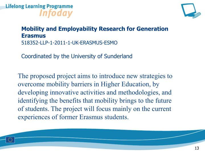 Mobility and Employability Research for Generation Erasmus