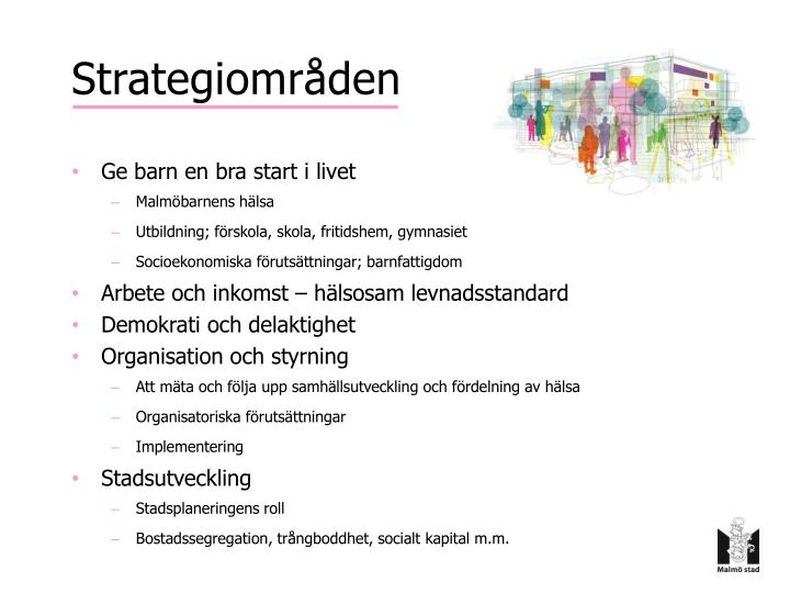 Strategiområden