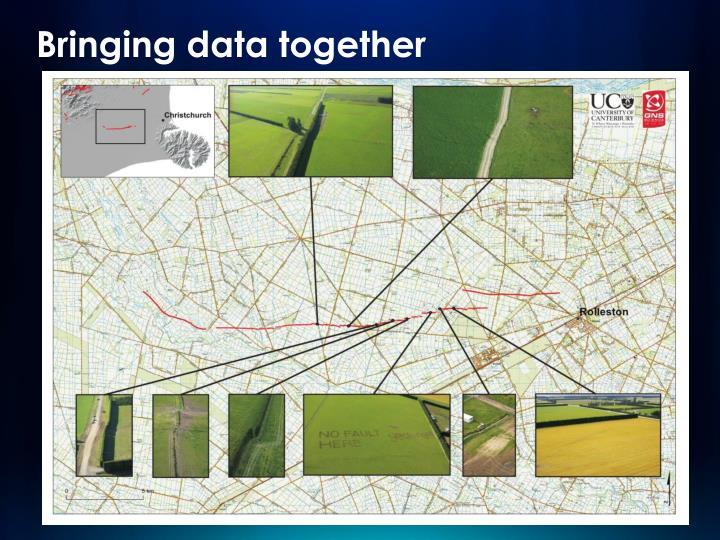 Bringing data together