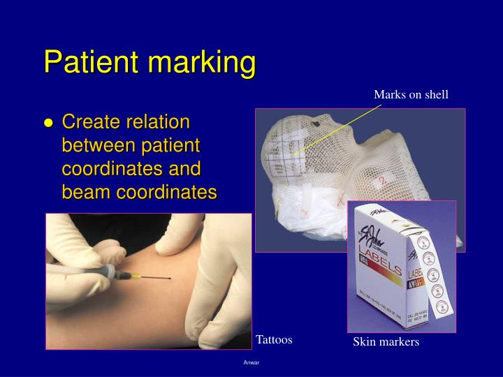 Patient marking