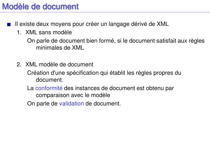 Modèle de document