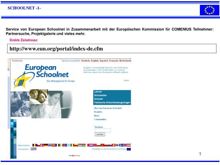 SCHOOLNET -1-