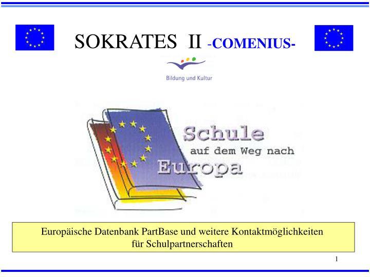 SOKRATES  II