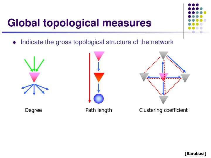 Global topological measures