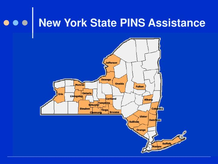New York State PINS Assistance