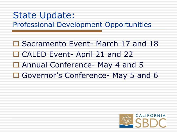 State Update: