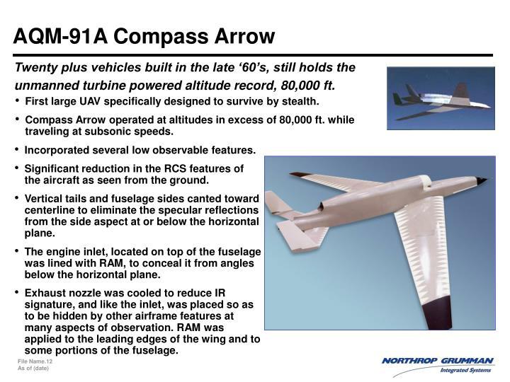 AQM-91A Compass Arrow