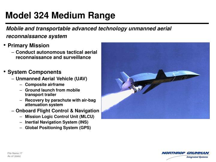 Model 324 Medium Range