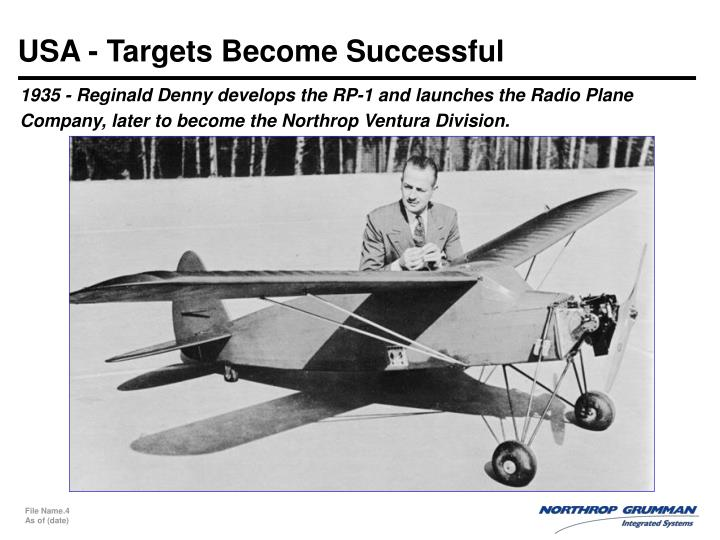 USA - Targets Become Successful