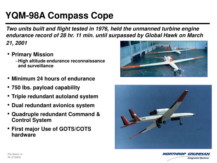 YQM-98A Compass Cope