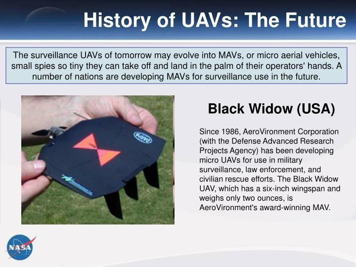 History of UAVs: The Future