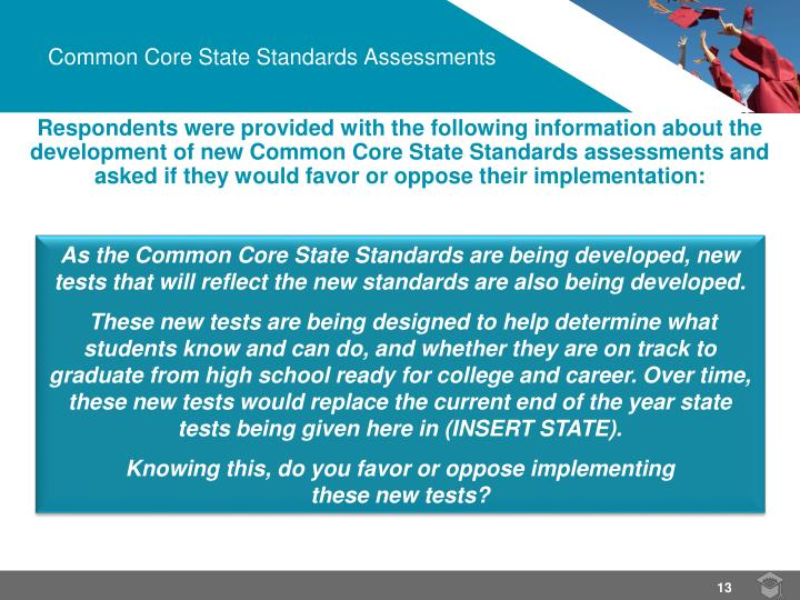 Common Core State Standards Assessments