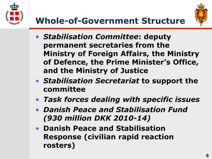 Whole-of-Government Structure