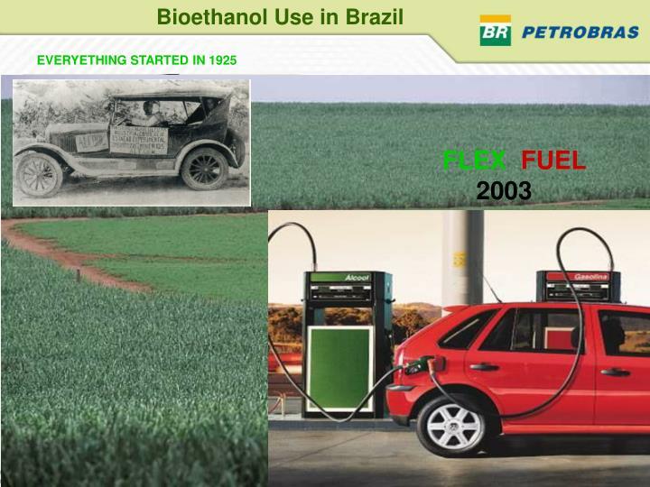 Bioethanol Use in Brazil