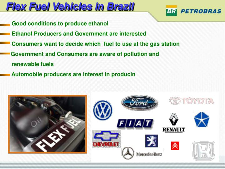 Flex Fuel Vehicles in Brazil