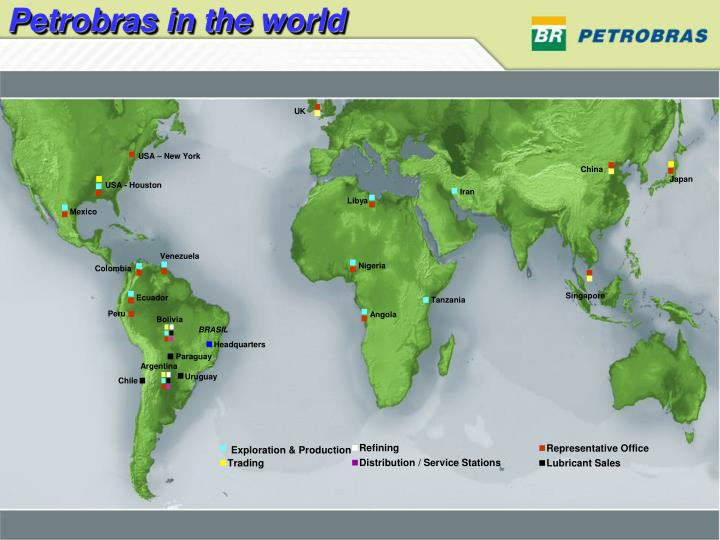 Petrobras in the world