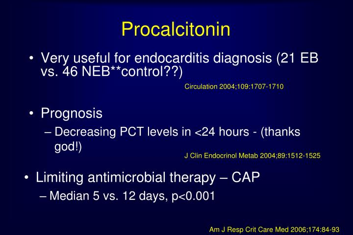 Procalcitonin