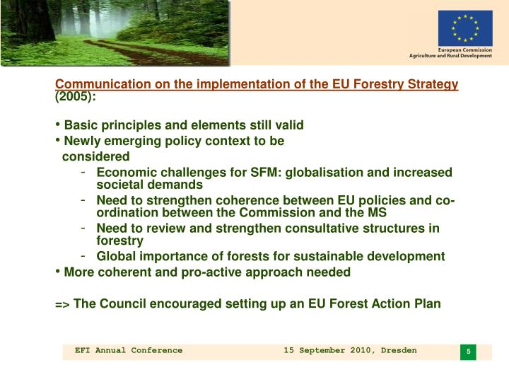 Preparation of the mid-term review of the eu biodiversity strategy