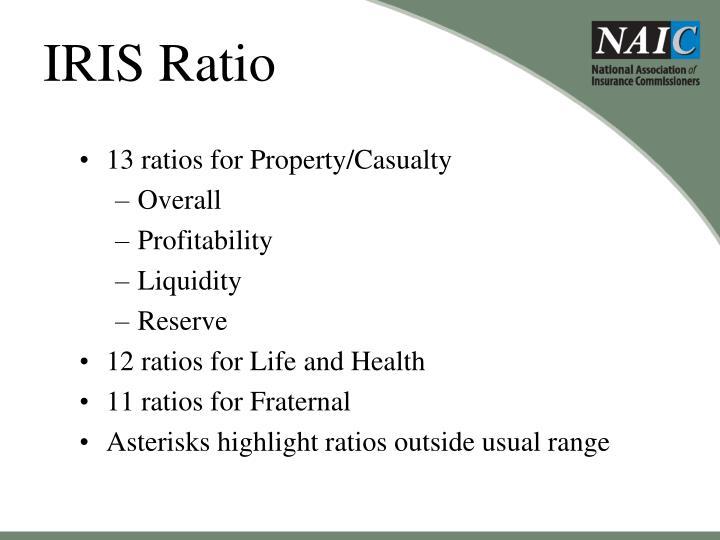 IRIS Ratio
