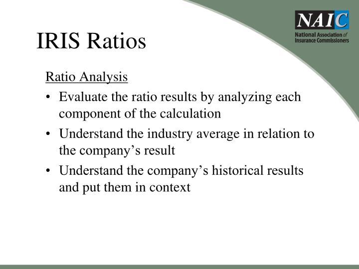 IRIS Ratios