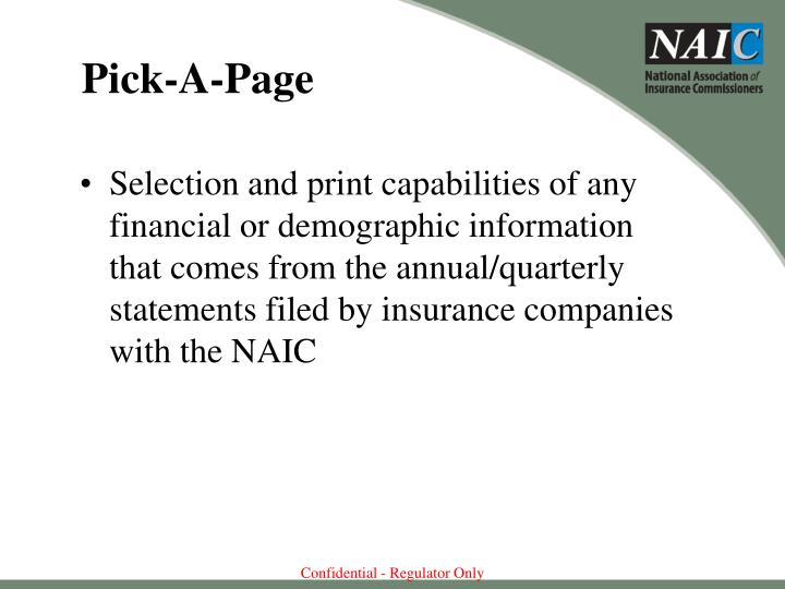 Pick-A-Page