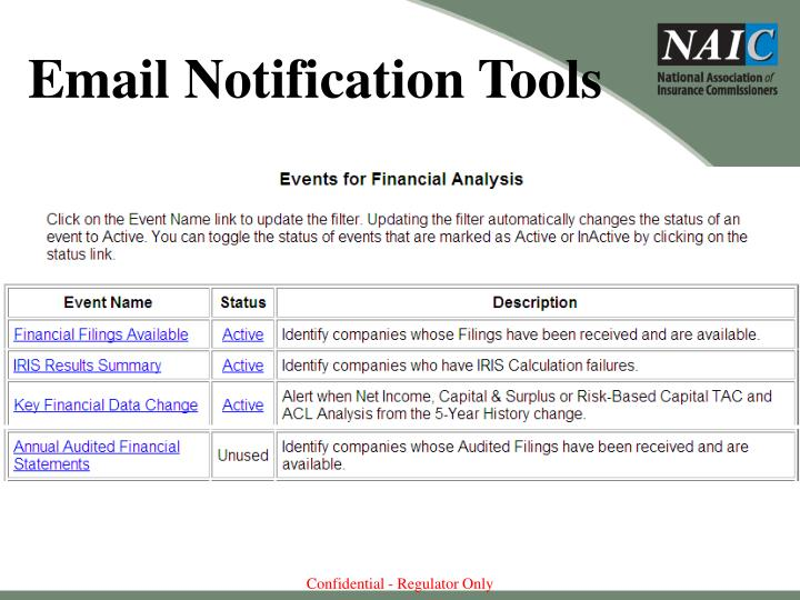 Email Notification Tools