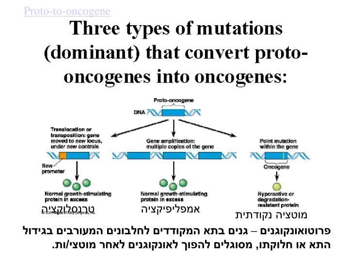Proto-to-oncogene