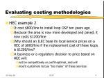 evaluating costing methodologies2