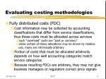 evaluating costing methodologies3