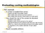 evaluating costing methodologies4