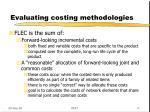 evaluating costing methodologies6