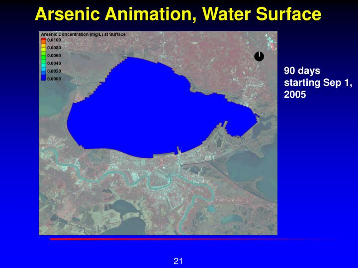 Arsenic Animation, Water Surface