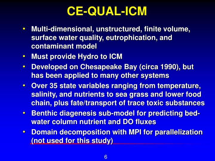 CE-QUAL-ICM