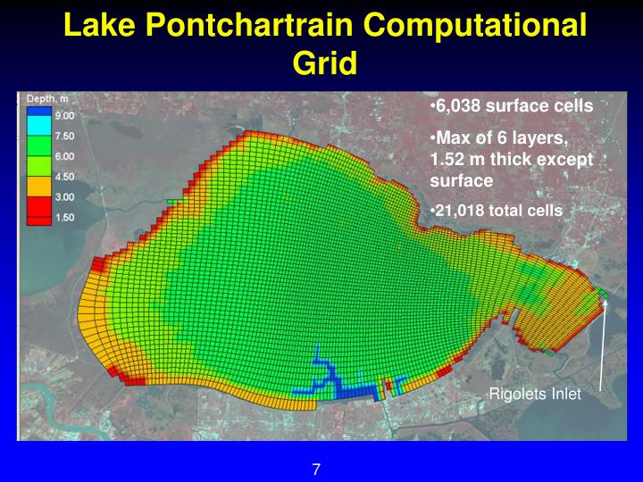 Lake Pontchartrain Computational Grid