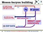 meson baryon building