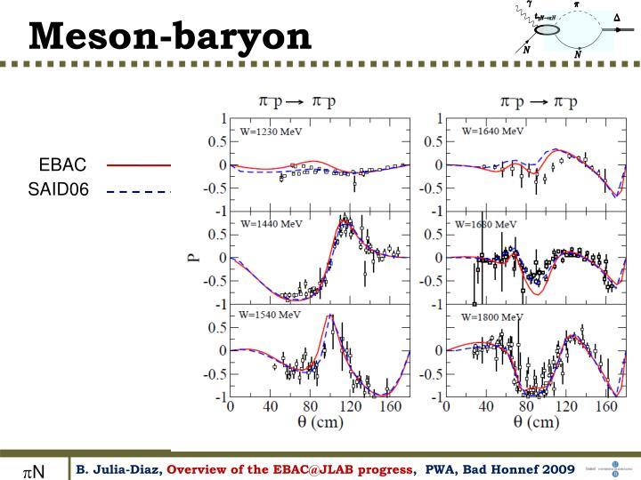 Meson-baryon