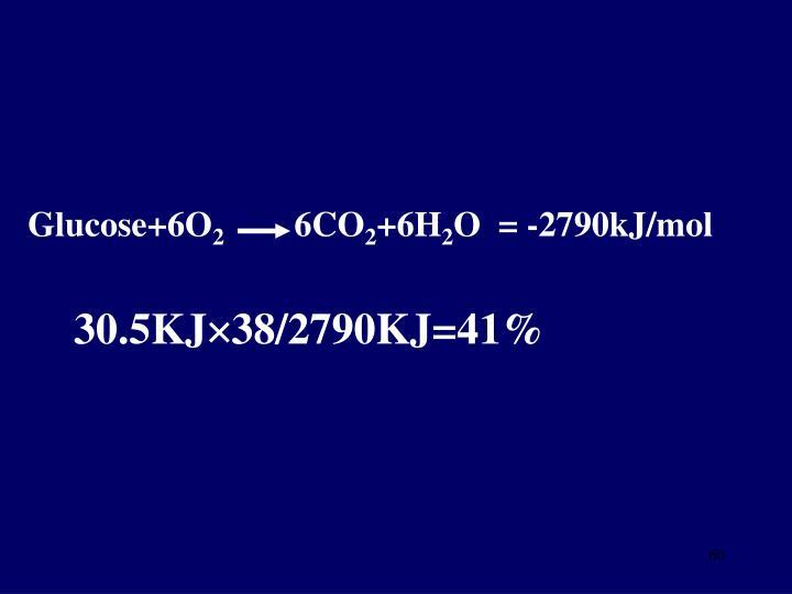 Glucose+6O