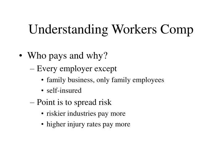 Understanding Workers Comp