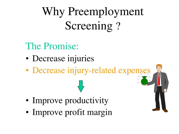 Why Preemployment Screening