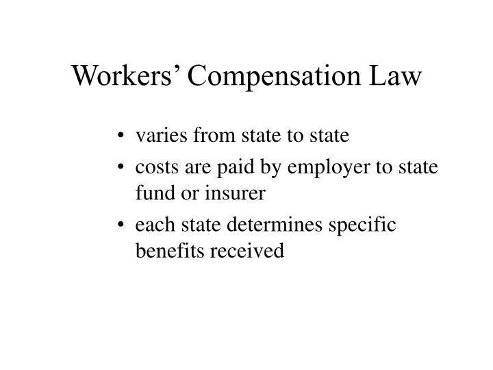 Workers' Compensation Law