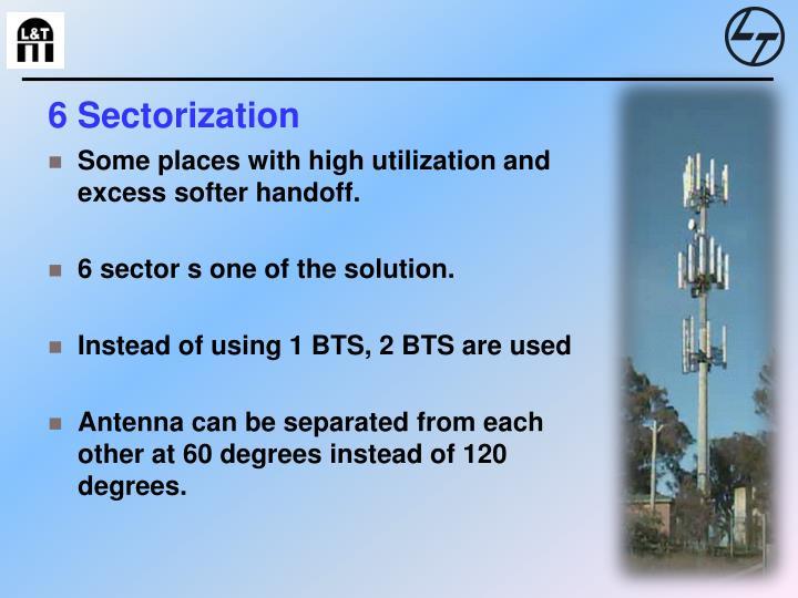6 Sectorization