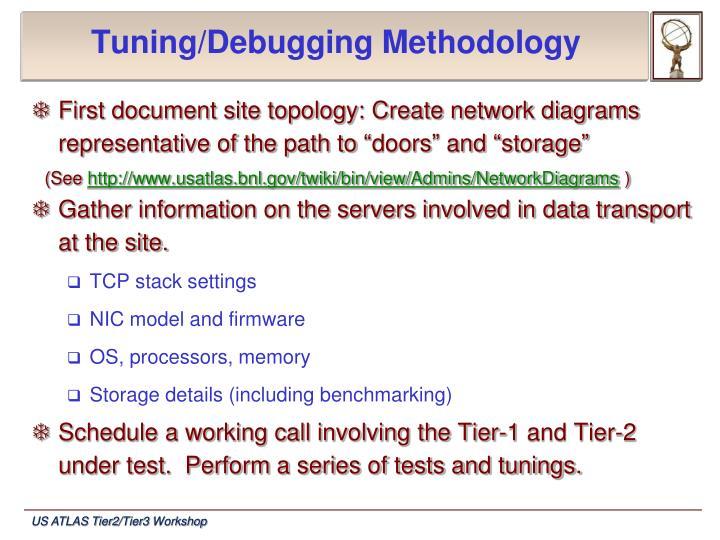 Tuning/Debugging Methodology