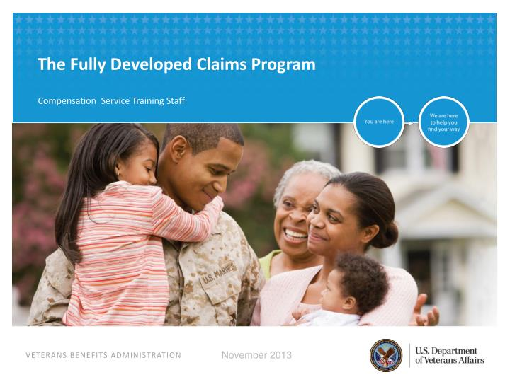 The Fully Developed Claims Program