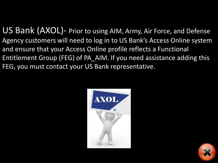 US Bank (AXOL)-