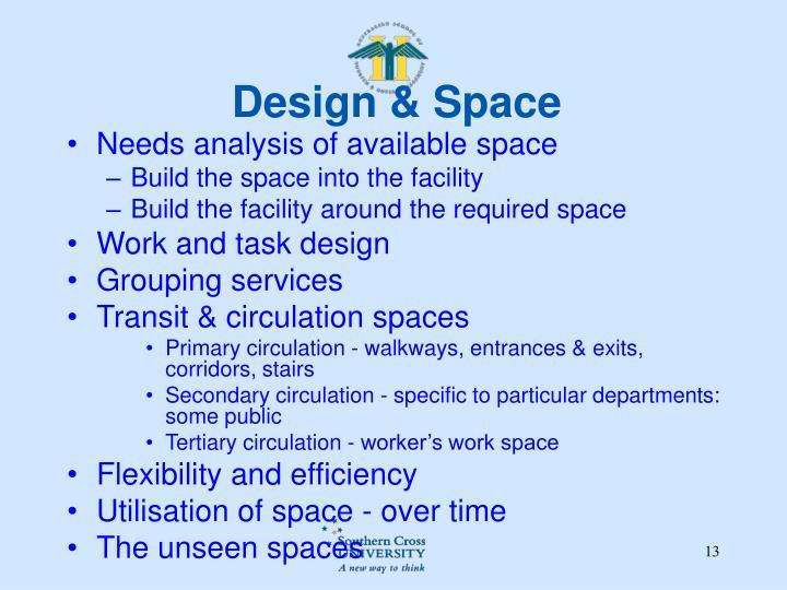 Design & Space