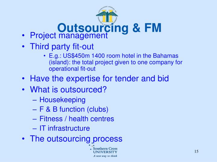 Outsourcing & FM