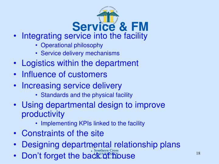 Service & FM
